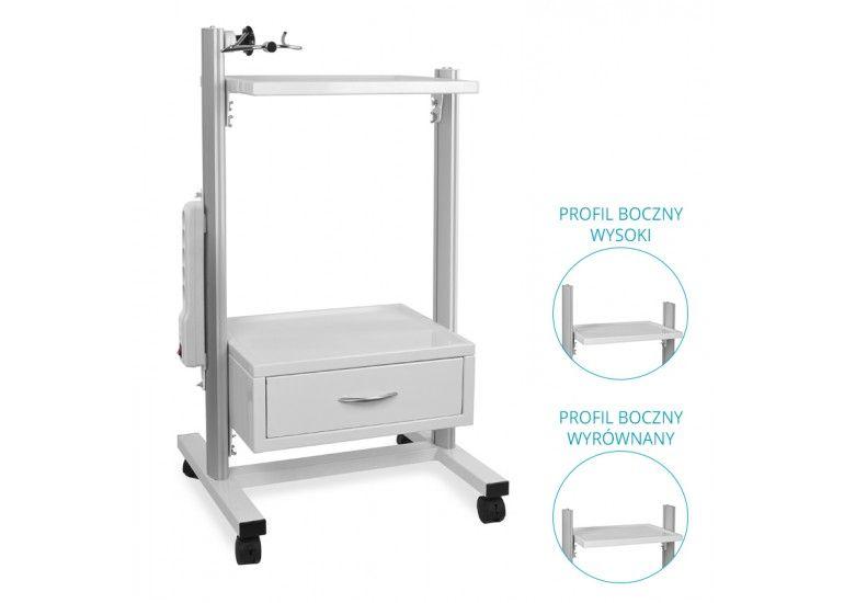 Stolik pod aparaturę medyczną