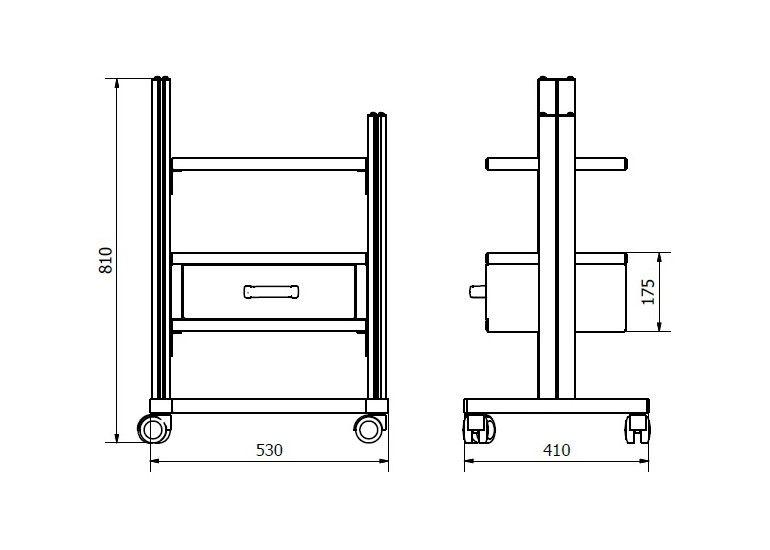 Stolik pod aparaturę STA 01